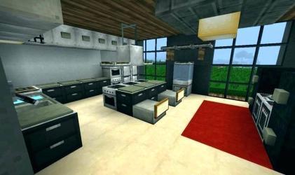 Minecraft Bedroom Bedroom Sets Bedroom Sets Bedroom Interior Design Minecraft Kitchen #453554 HD Wallpaper & Backgrounds Download