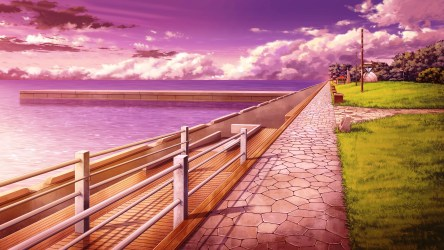 Anime Scenery #492233 HD Wallpaper & Backgrounds Download