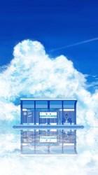 Anime / Scenic Mobile Wallpaper Anime Background Wallpaper Iphone #492790 HD Wallpaper & Backgrounds Download