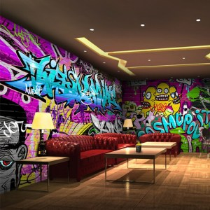 graffiti cafe bar gaming itl backgrounds ktv wallpapers use