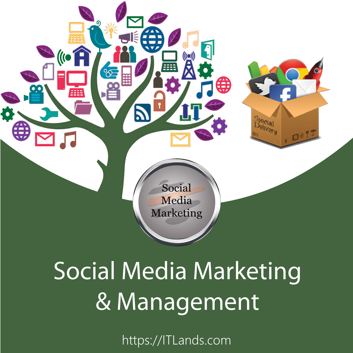 ITLands Social Media Marketing and Management