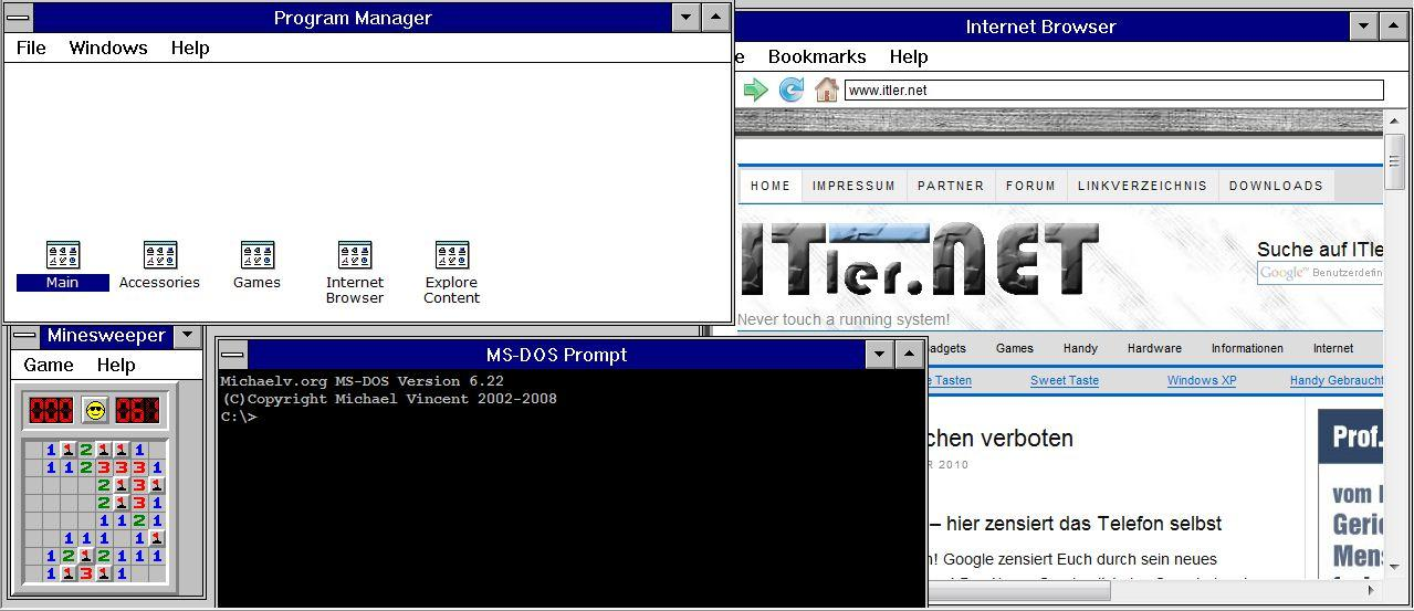 Photo of IT – Back To The Roots – Windows 3.1