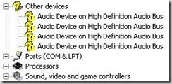 Photo of Audio Device On High Definition Audio Bus Treiber XP