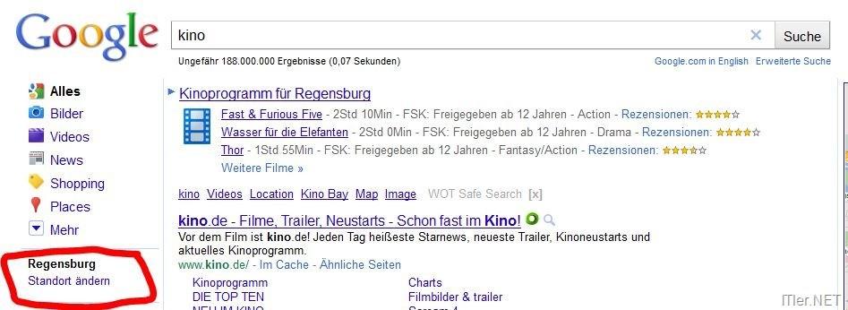 Kinoprogramm Google