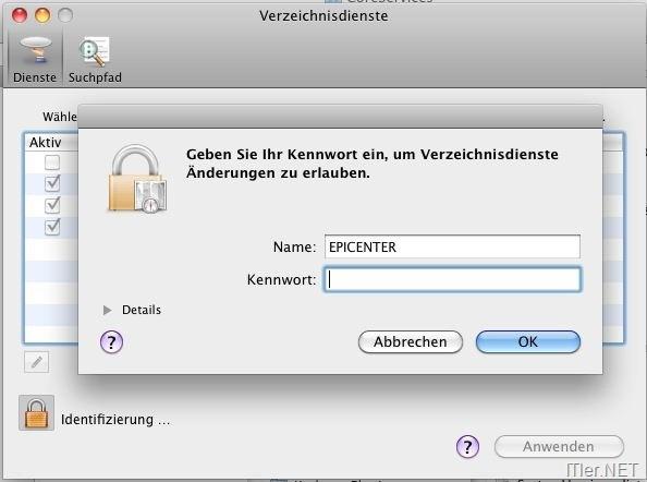MAC – Root aktivieren – User Account anlegen und Passwort vergeben