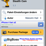 Photo of Cydia App – Stealth Cam ermöglicht Fotos – Videos bei abgeschaltetem iPhone