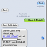 Photo of iPhone – Sendebericht SMS – anfordern