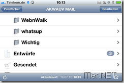 Photo of iPhone / iPad – 1 nicht gesendete E-Mail