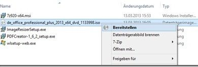 Photo of Windows 8 – ISO mounten ohne Zusatzsoftware