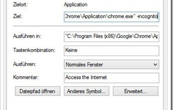 Photo of Chrome im Inkognito Modus starten