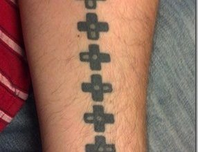 Photo of Geek-Tattoo – der Konami Code