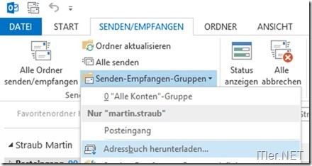 outlook 2010 offlineadressbuch