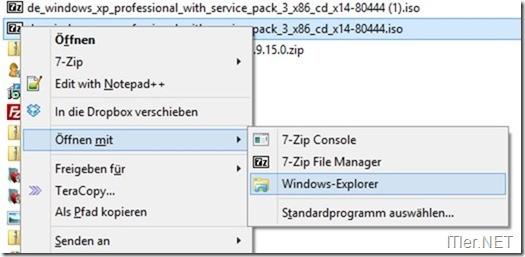 Windows 8 – ISO brennen mit Boardmittel