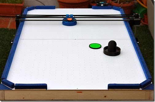 Photo of Air Hockey Roboter im Eigenbau