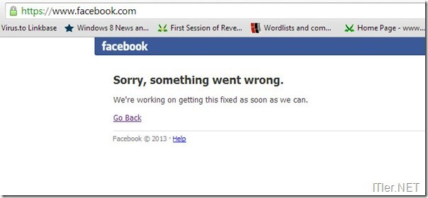 Photo of Facebook ist down!