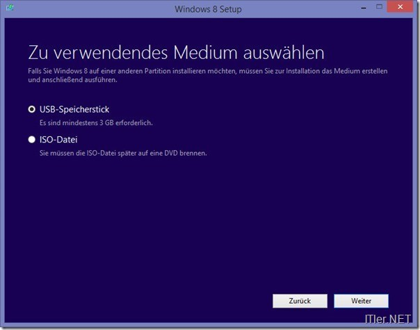 Windows 8 - Windows 8-1 ISO File oder USB Stick Installation herunter laden (6)