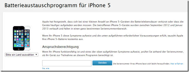 Photo of iPhone 5 – Apple tauscht defekte Akkus aus