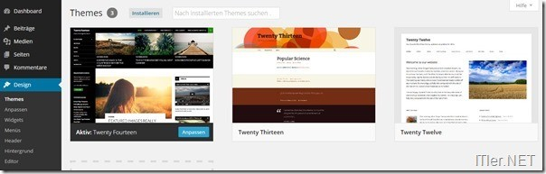 33-Wordpress-Themes-installieren