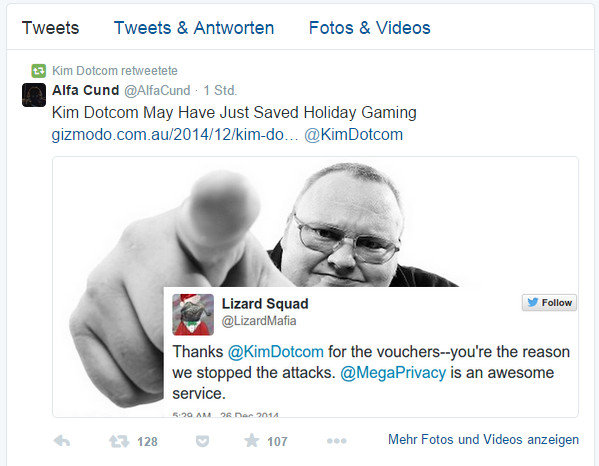 Photo of Hat Kim Dotcom das Weihnachten der Gamer gerettet?