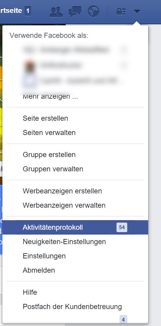 Facebook Umfrage Antwort Löschen