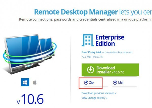 Remote Desktop Manager Download