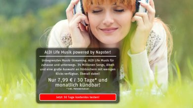 Photo of Aldi Life – Musikstreaming zum Discounter Preis