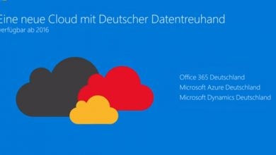 Photo of Microsoft Cloud wandert nach Deutschland