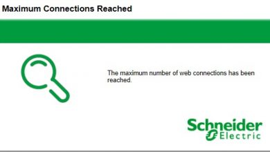 Photo of Schneider Electric – APC – Maximum Connections Reached – Weboberfläche