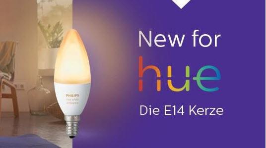 Philips Hue Lampen : Philips hue lampen u2013 jetzt auch mit e14 sockel