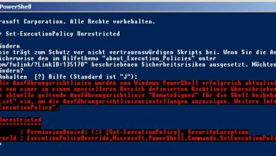 Photo of PowerShell – ExecutionPolicy – GPO + Registry Fix