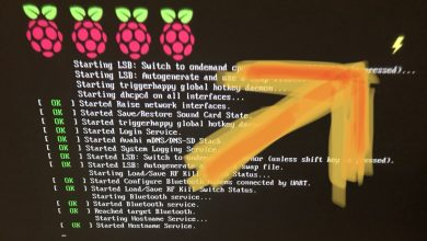 Photo of Raspberry Pi – gelber Blitz – buntes Quadrat