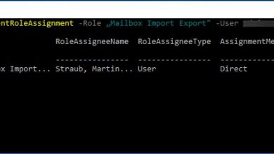 Photo of Exchange – PST Export und Import von Postfächern – Management Shell