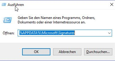 Photo of Outlook – Signaturen exportieren – importieren – sichern