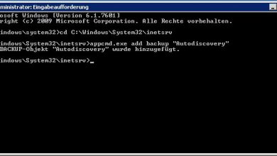 Photo of Microsoft IIS Konfiguration Backup / Restore – Anleitung