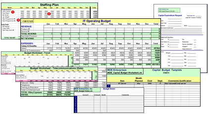 IT budget templates make budgeting easier, , , plus a special offer ...