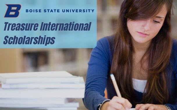 Apply For Boise State University Treasure international awards in USA