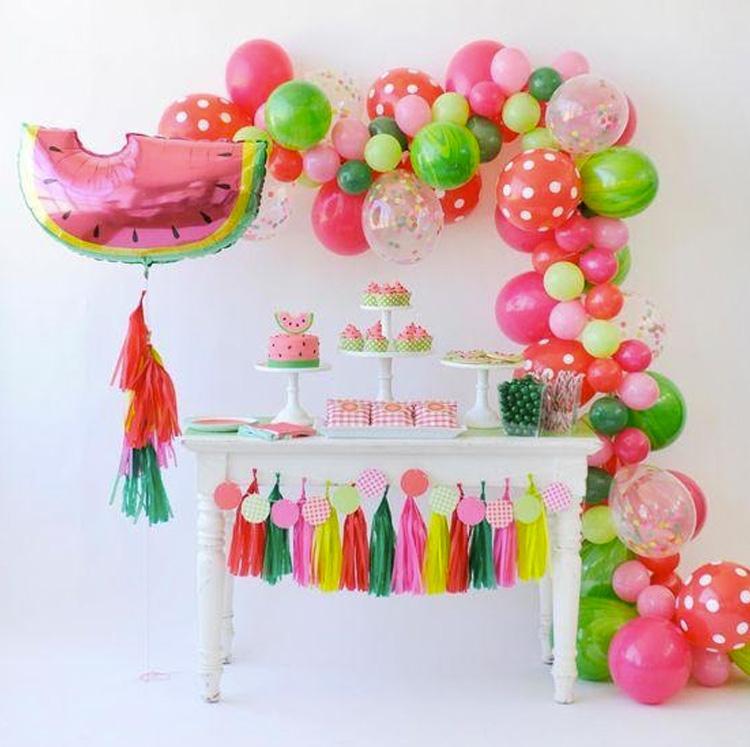 Aniversário Frutas It Mãe