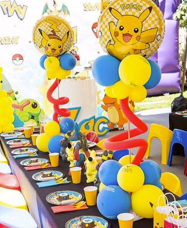 Festa Infantil Pokemon It Mãe