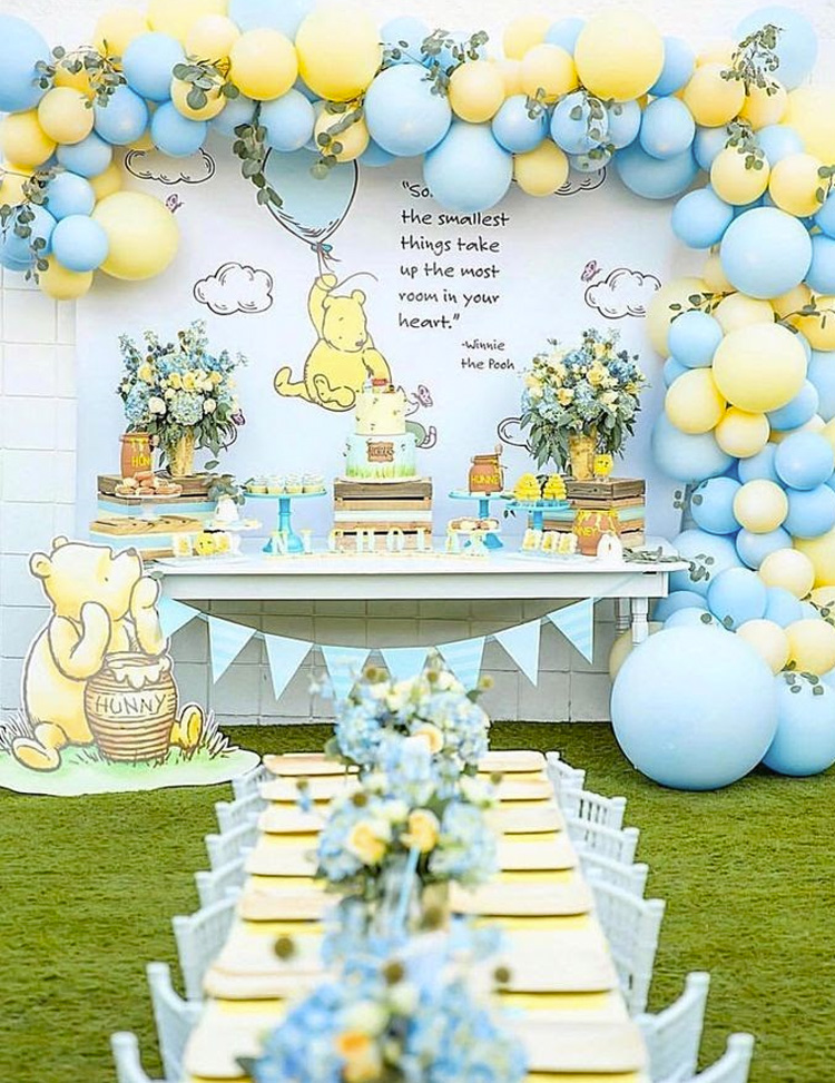 Festa Infantil Pooh It Mãe