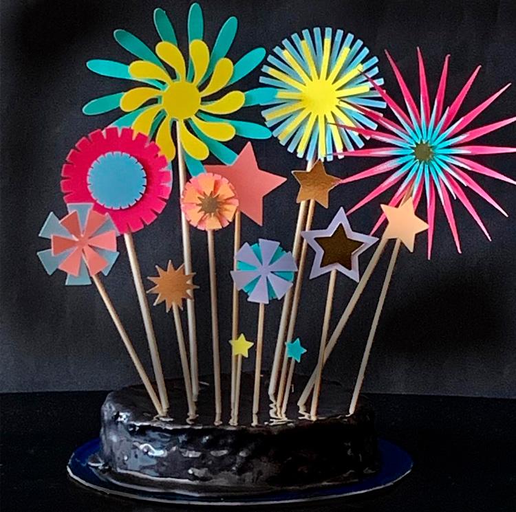 Papelaria Personalizada Fireworks Magic Box Festas It Mãe