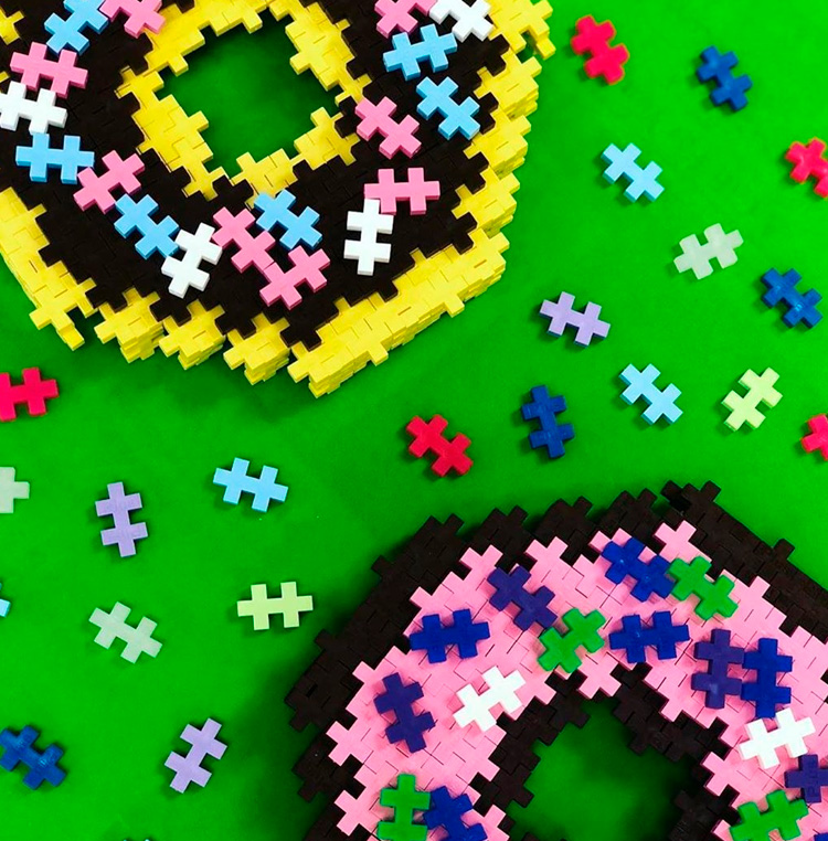 Blocos e brinquedos para pais e filhos - Steam Toy - It Mãe