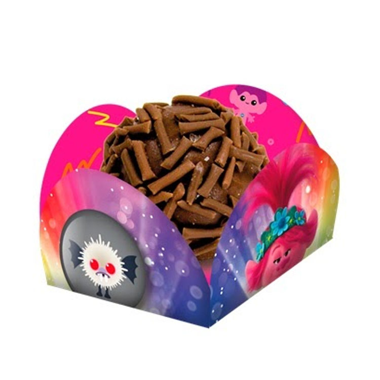 Forminha de doces Festa Trolls 2 Festabox It Mãe