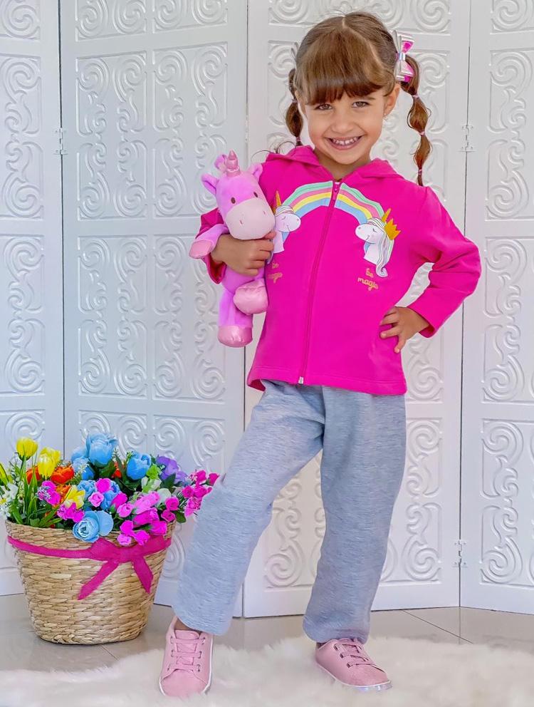 conjunto pink rique baby it mãe