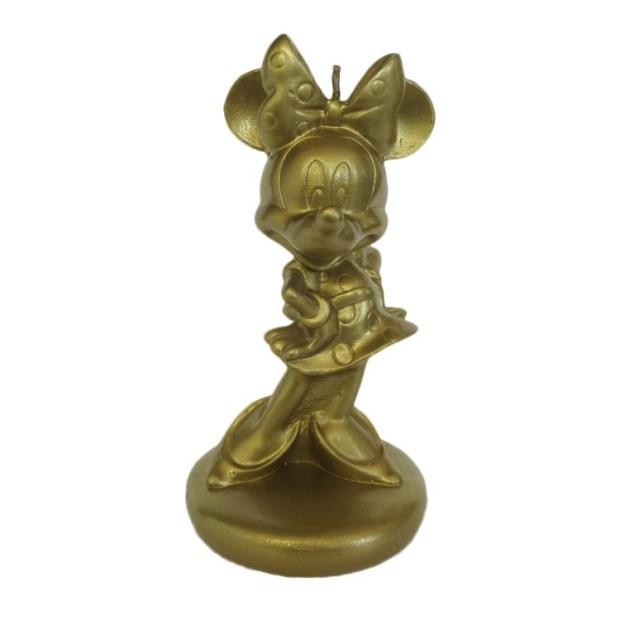 Minnie 3D dourada Rica Festa - It Mãe