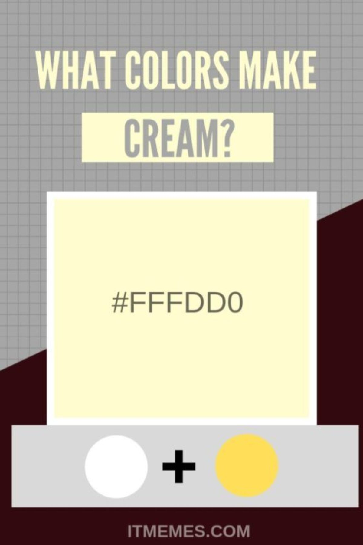 What Color Is Cream : color, cream, Colors, Cream?, Memes