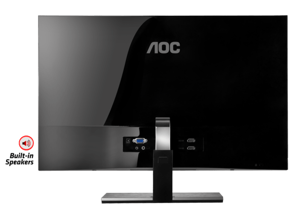 AOC Monitor I2757FH Rear