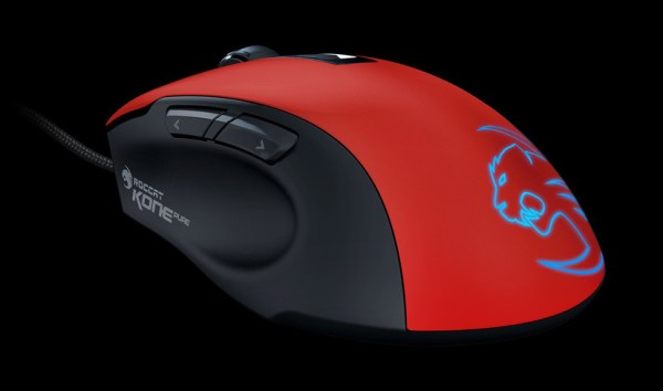 Roccat: Kone Pure Color Mouse - Red