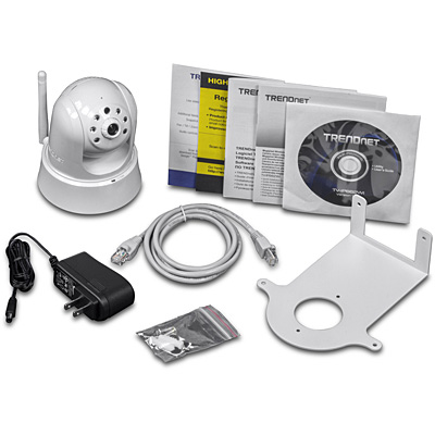 TRENDnet TV-IP662WI 1MP PoE PTZ IR Wireless IP Cam - Content