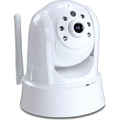 TRENDnet HD Wifi Day/Night IR PTZ Cloud Camera TV-IP862IC