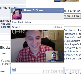 Video Chat Facebook